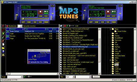 MP3 Tunes DJ-Player - free download