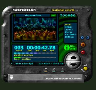 Sonique 1.96 MP3-Player