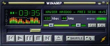 WinAMP 2.91c deutsch - free download